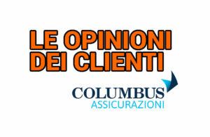 Columbus assicurazioni viaggio opinioni