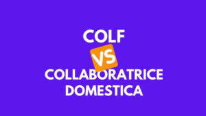 differenza colf collaboratrice domestica