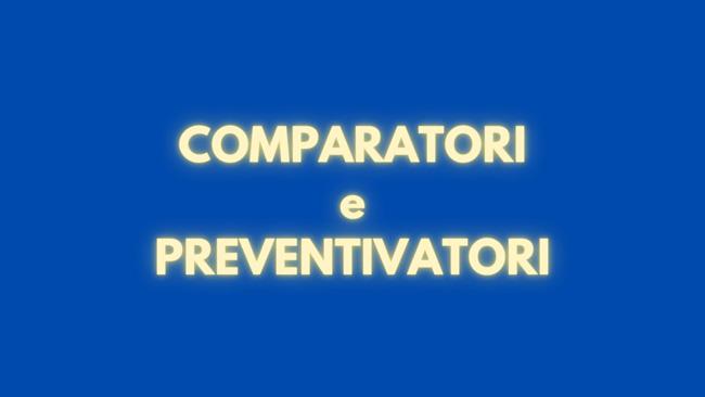 migliori comparatori e preventivatori