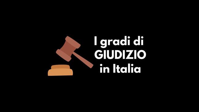 gradi di giudizio in italia
