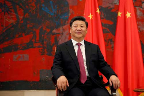 Xi Jinping via della seta
